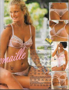 Page Underwear Ads Sexy Amateurs White Lingerie, Vintage Lingerie, Lingerie Catalog, Sexy Women, Women Wear, Folk Fashion, Retro, Bikinis, Swimwear