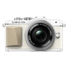 Olympus - E-PL7 - PEN ❤ liked on Polyvore featuring home, home decor, office accessories, fillers, accessories, camera, items and tech