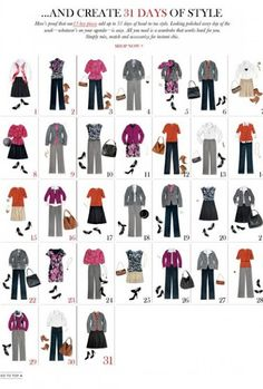 What Bridget Wore: Building A Business Casual Wardrobe Part II - Outfits Using the Basics outfits, fashion, 31 outfit, cloth, style, 13 piec, work outfit, closet, banana republic