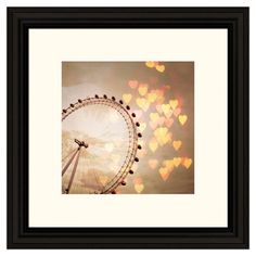 In Love With London Framed Print