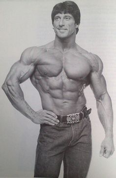 Mr. Olympia Frank Zane.  #Fitness #Motivation #Photo