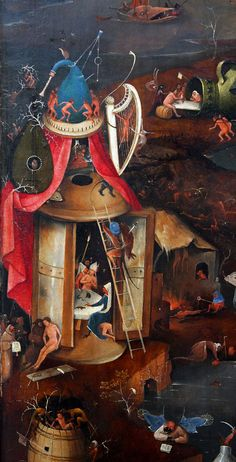 Hieronymus Bosch, The Last Judgment, central panel
