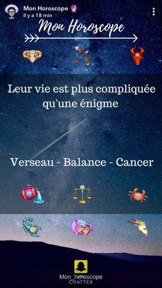 ... Vrai... 😢 Cancer Horoscope Dates, Astrology Aquarius, True Facts, Zodiac Signs, How To Look Better, Balance, Horoscopes, Tattoo, Funny