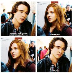 """I see you."" If I Stay"