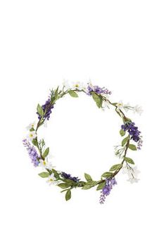 Heather Flower Garland - Hair Accessories  - Bags & Accessories ( would wear it as a bracelet)