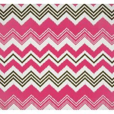 Fabulous Outdoor Pink Chevron fabric! Imagine what you could create with this. Buy it by the metre here and start now!