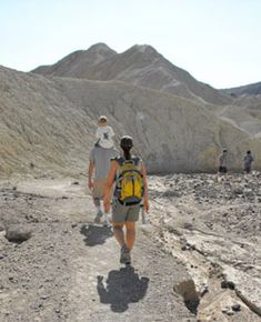 visiting death valley and furnace ranch with kids