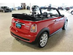 2009 Chili Red MINI Cooper Convertible S  http://www.iseecars.com/used-cars/used-mini-for-sale