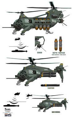 Helicopter-2 by marksanwel.deviantart.com on @DeviantArt