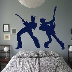 Iconic Stickers - Rock Star Guitar Music Heavy Metal Legend Wall Sticker Decor Design Transfer R43 - As Pictured - Size: Small - Colour: Black by Iconic Stickers, http://www.amazon.co.uk/dp/B00H9GE6BM/ref=cm_sw_r_pi_dp_vDhstb0ARYWJN