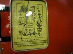 1970s Kiddierama Theatre un-restored coin operated cartoon booth #Terrytoons