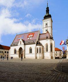 St. Mark's Church Zagreb, Croatia