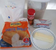 Easy Cinnamon Buns (using frozen bread dough)