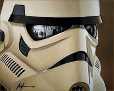 White Stormtrooper by Christian Waggoner