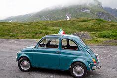 Raduno Fiat 500 d'epoca VDA - La Thuile-Morgex