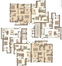 tangdienhinh – Architecture is art Condominium Architecture, Architecture Plan, Residential Architecture, Building Layout, Building Plans, Building Design, Residential Building Plan, Residential Complex, Hotel Floor Plan