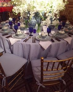 BLUE AND WHITE DINNER - Mark D. Sikes: Chic People, Glamorous Places, Stylish Things