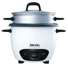 Aroma 15 cup rice cooker and steamer