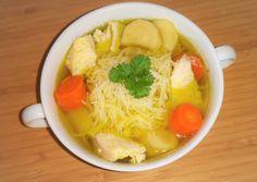Csirkehúsleves   kajakóma receptje - Cookpad receptek Thai Red Curry, Ramen, Japanese, Ethnic Recipes, Food, Japanese Language, Essen, Meals, Yemek