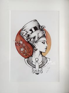 ink line art Tattoo P, Body Art Tattoos, Small Tattoos, Sleeve Tattoos, Men Tattoos, Chest Tattoo, Cleopatra Tattoo, Nefertiti Tattoo, Egyptian Tattoo Sleeve