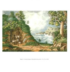 The Lycett album : drawings of Aborigines and Australian scenery Australian Painting, Australian Artists, Australian Aboriginals, Indigenous Education, Aboriginal Culture, Paintings I Love, First Contact, Body Painting, Scenery