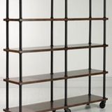 Warm wood and cold metal intersect in these industrial-style bookshelves, which can be super rustic or smooth and refined. Some are entirely new; others recovered from old factories. And others still fall somewhere in between, with some components that have been salvaged or recycled. Love them or hate them, these bookcases are cropping up everywhere.