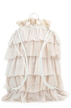 fd2d1e0ac9 The Puma x Fenty by Rihanna Layered Drawstring Backpack in Pink Tint  Drawstring Backpack