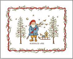 Jana Johnson Schnoor norwegian christmas Norwegian Christmas, Cabin Christmas, Noel Christmas, All Things Christmas, Christmas Crafts, Christmas Decorations, Xmas, Scandinavian Holidays, Scandinavian Folk Art
