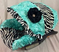 Custom Infant Cutie Owl Baby Trend Flex Loc Car Seat Cover