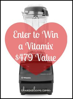 If you thought last month's giveaway was awesome, this month's is even better. I'm giving away a Vitamix Turboblend 4500 Countertop Blender with 2+ HP Motor — a $479 Value. Vitamix Turboblend 4500 Countertop Blender with 2 + HP Motor — $479 Value I asked you all on Facebook what you wanted to win and …