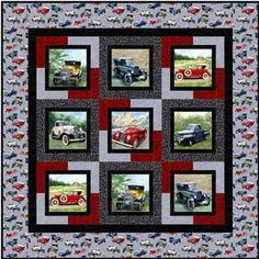 Picture Perfect Quilt Pattern Download by Nancy Rink Designs now available at ConnectingTheads.com