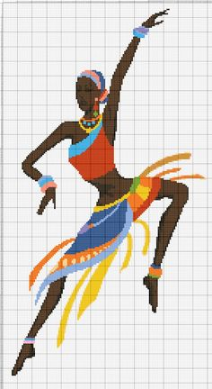 1 and Get 1 Free Coupon African Dance Art Cross Stitch Pattern Counted Cross Stitch Char Buy 1 and Get 1 Free Coupon African Dance Art Cross Modern Cross Stitch Patterns, Cross Stitch Charts, Cross Stitch Designs, Cross Stitching, Cross Stitch Embroidery, Embroidery Patterns, Loom Patterns, Beading Patterns, African Dance