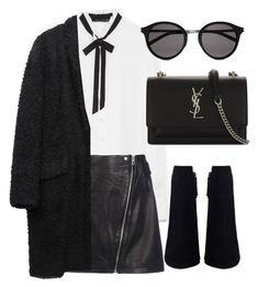 """Untitled #7145"" by laurenmboot ❤ liked on Polyvore featuring Zara, rag & bone, Isabel Marant and Yves Saint Laurent"