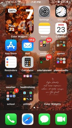 Apple 7, Social Games, Phone Organization, Sky Aesthetic, Happy Quotes, Homescreen, Iphone Wallpaper, Ios, Photo Editing