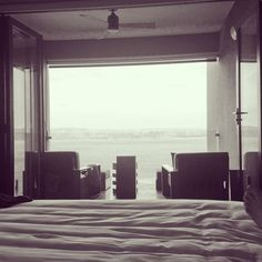 Room with a view.