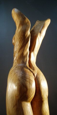 Erotic vegetable sculpturing