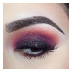 Purple/pink smokey eye (click picture for video tutorial)