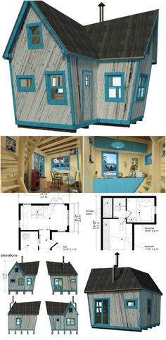 Magdalene Tiny House Plans