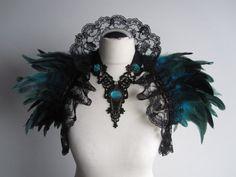 birdswishlist:  Feather Lace Stole Wrap