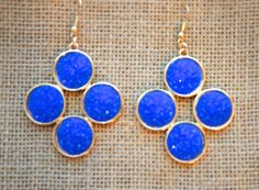 Bailey Blue Earrings from The Charming Arrow Boutique