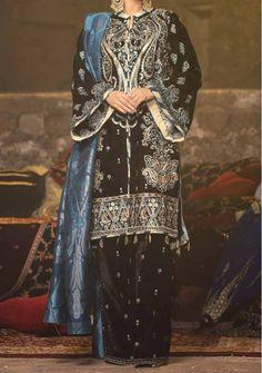 Velvet Pakistani Dress, Pakistani Dresses, Model Pictures, Dress Brands, Desi, Kimono Top, Luxury, Sleeves, Shopping