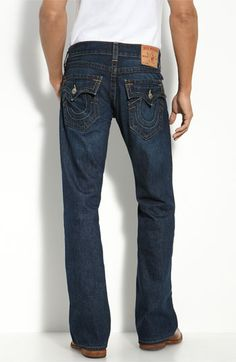 4f94637b True Religion Brand Jeans 'Billy' Bootcut Jeans (Monte) Boots And Jeans Men
