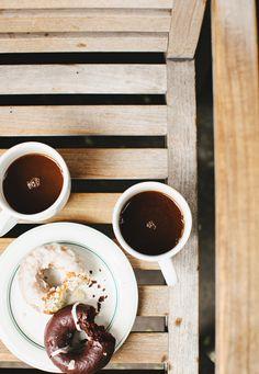 Morning coffee michelle edgemont croissants, coffee break, i love coffee, m I Love Coffee, Coffee Break, Morning Coffee, Coffee Mornings, Coffee Coffee, Coffee Shops, Frappuccino, Chocolates, Espresso