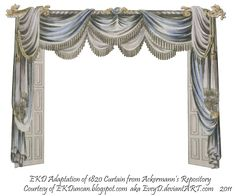 1820 EKD Regency Curtain Room 3 - curtain only by ~EveyD on deviantART