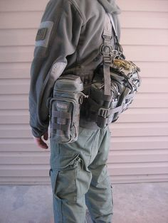 Maxpedition Sabercat 004 by justaninja, via Flickr the suspenders are HSGI and MM. with a fully loaded pack the suspenders are a big plus.