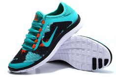 premium selection 2041e 65adc Nike Free 3.0 V7 Womens Brazil Green Dark Citrus Coal Black  fashion   sneakers