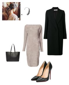"""""""Work"""" by cgraham1 on Polyvore featuring Jitrois, Victoria, Victoria Beckham, Yves Saint Laurent and Christian Louboutin"""