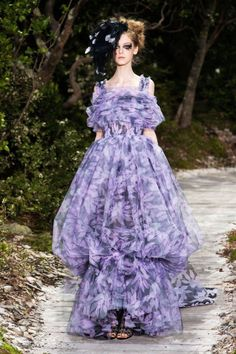 Chanel Spring 2013 Couture Runway - Chanel Haute Couture Collection