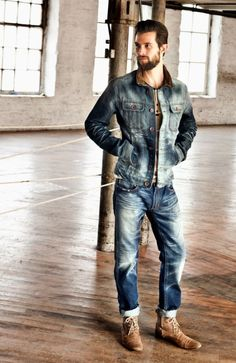 +++ Men's Denim Looks +++ Spring-Summer 2013 +++  love this look! Diesel maybe?  http://menswear.mainlinemenswear.co.uk/search?w=jeans&brand=Diesel%20%20%20%20%20%20%20%20%20%20%20%20%20%20&category=&sale=&colour=&size=&price=