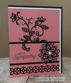 Stampin' Up! Flourishing Phrases Sympathy